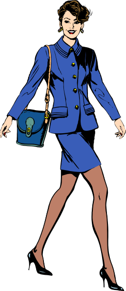 Business Lady Clipart - Clipart Kid