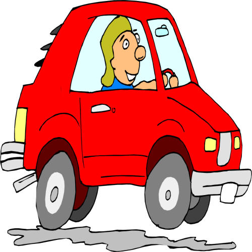 cartoon cars clipart - photo #31