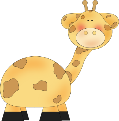 Clip Art Cute Animal Clipart cute animal free clipart kid clip art image of a giraffe great for kids or baby projects