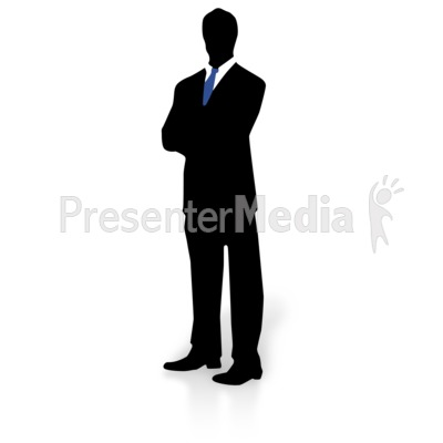 Clip Art Man In Suit