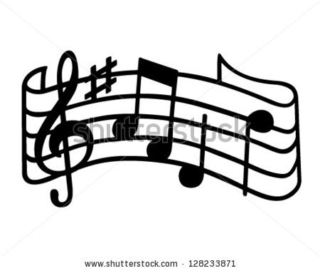Music Staff Free Clipart - Clipart Kid
