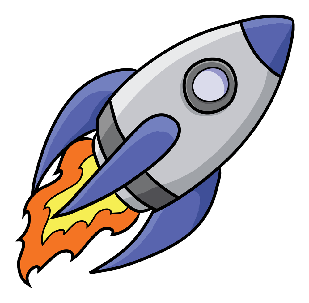Clipartlord Com Exclusive This Nicely Done Cartoon Rocketship Clip Art