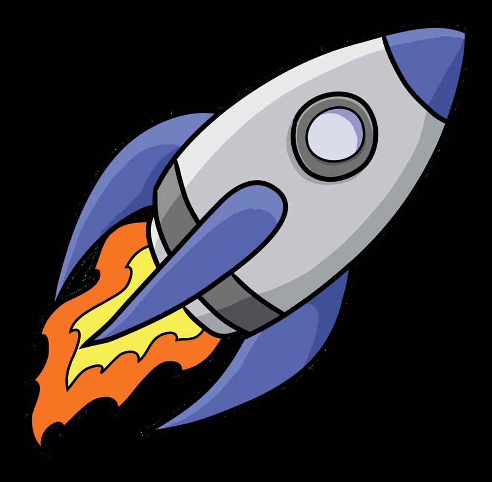 Cartoon Rocket Clipart - Clipart Kid