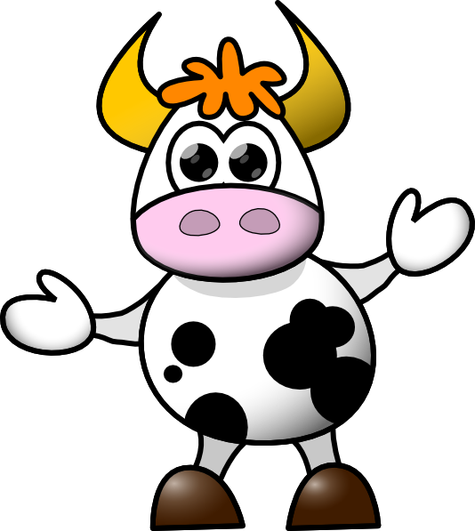 Cow Clip Art At Clker Com   Vector Clip Art Online Royalty Free