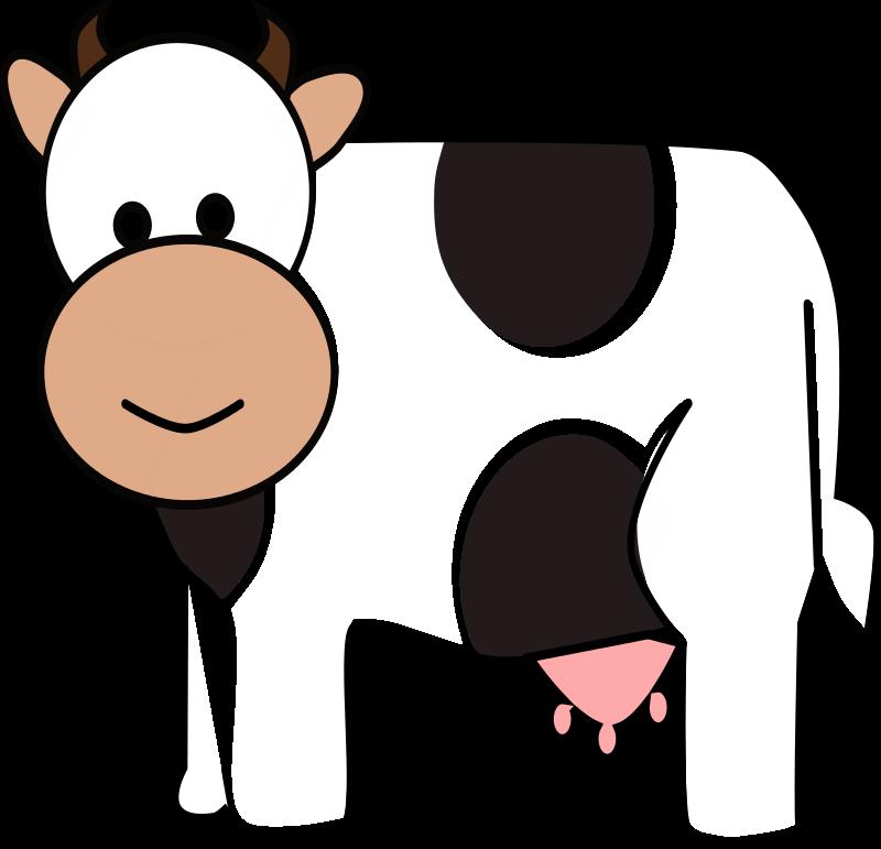 Cartoon Cow Clipart - Clipart Kid