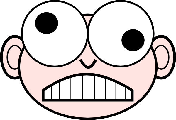 Crazy Face Clipart - Clipart Suggest