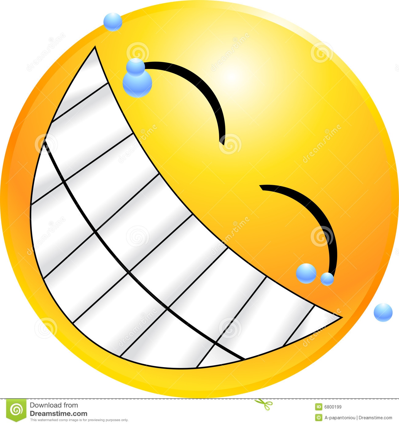 Emoticon Smiley Face Royalty Free Stock Images   Image  6800199