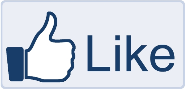Facebook Like Button Big   Free Images At Clker Com   Vector Clip Art