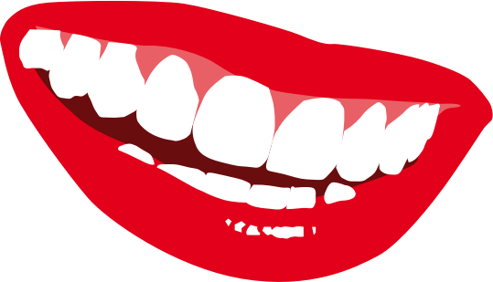 Free Smile Showing Teeth Clip Art