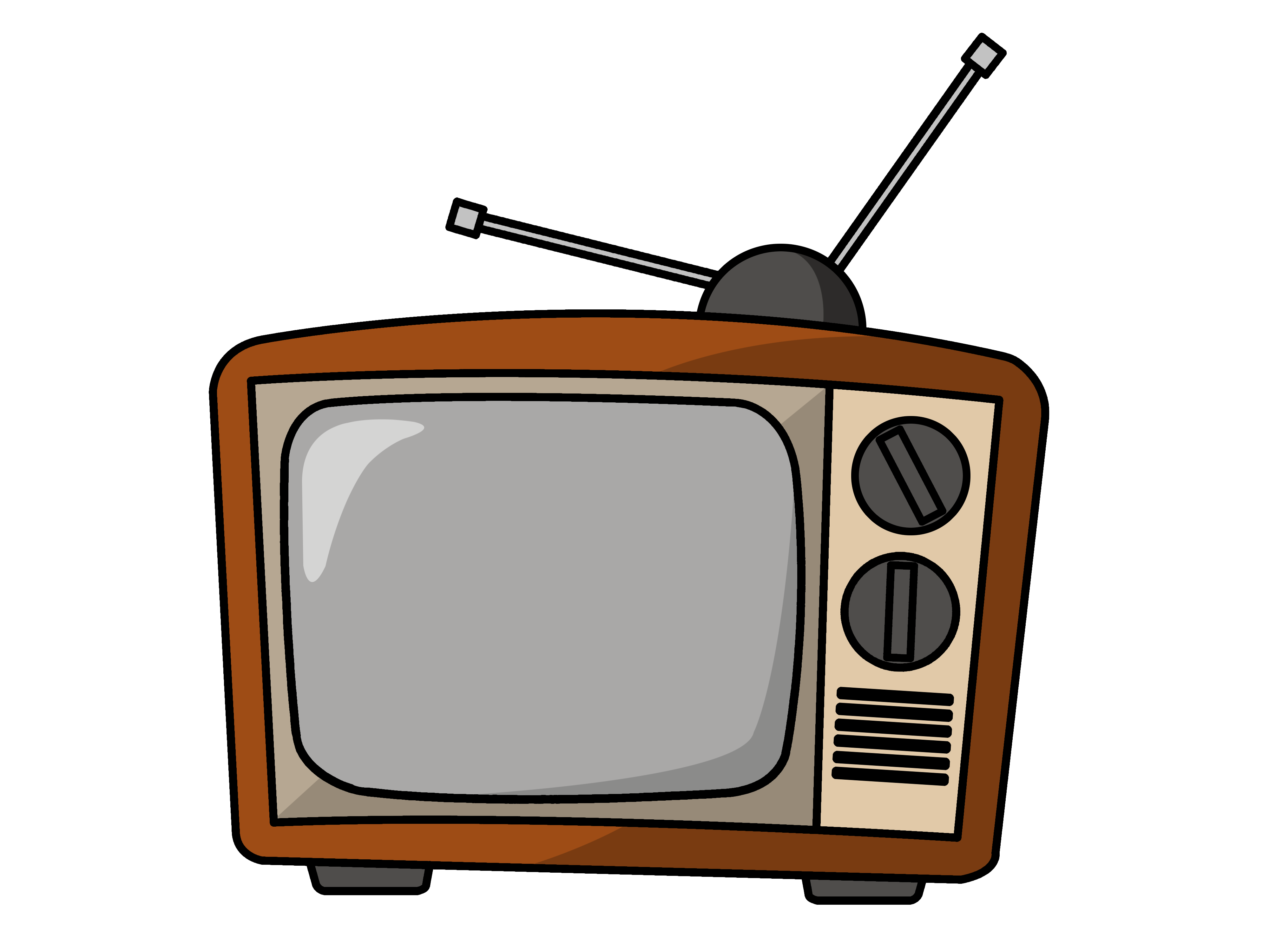 Free To Use   Public Domain Television Clip Art   Page 2