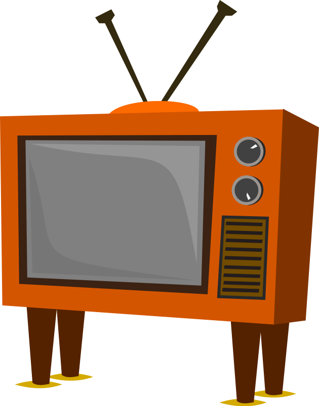 Television Set Clipart - Clipart Kid