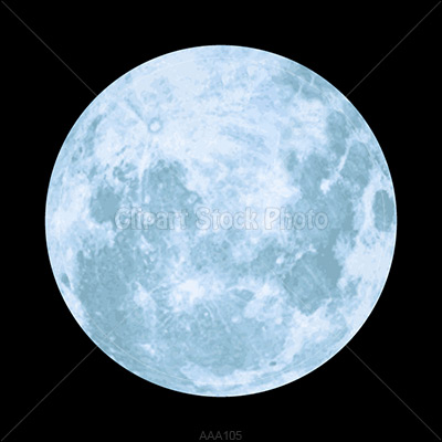Full Halloween Moon Clipart - Clipart Suggest