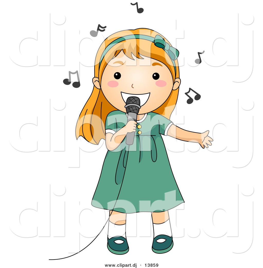 Girl Singing Clipart   Clipart Panda   Free Clipart Images