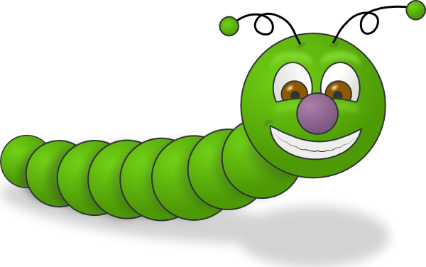 Green Worm Clip Art At Clker Com   Vector Clip Art Online Royalty