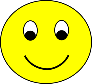 Happy Smiley Clip Art At Clker Com   Vector Clip Art Online Royalty