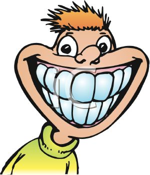 Silly Smile Clipart - Clipart Kid