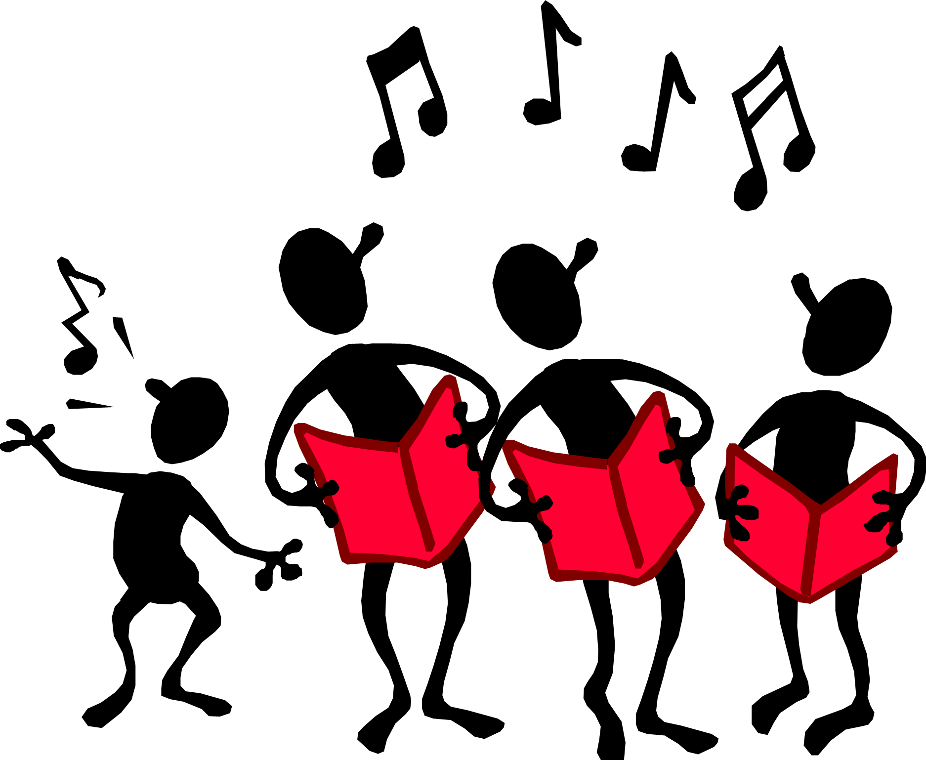 Silly Singing Clipart - Clipart Kid
