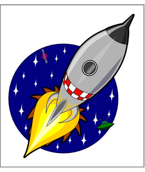 Kliponius Cartoon Rocket Clip Art At Clker Com   Vector Clip Art