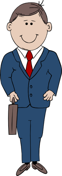 Man In Suit Clip Art At Clker Com   Vector Clip Art Online Royalty