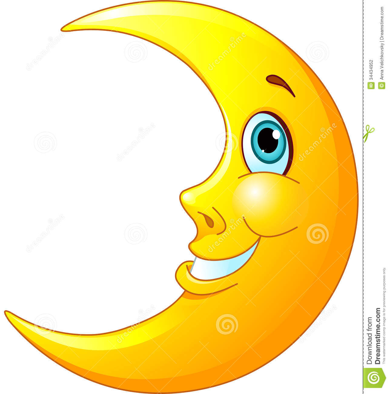 clipart image of moon - photo #21