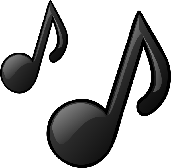 Music Notes Clip Art At Clker Com   Vector Clip Art Online Royalty