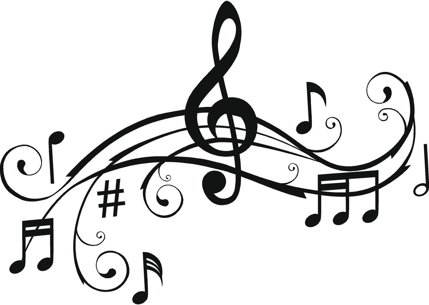 Music Staff Clipart Free Music Staff Art   Clipart Best