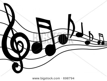Music Staff Clipart Music