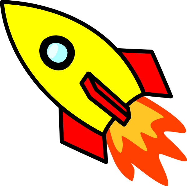 Rocket Clip Art At Clker Com   Vector Clip Art Online Royalty Free