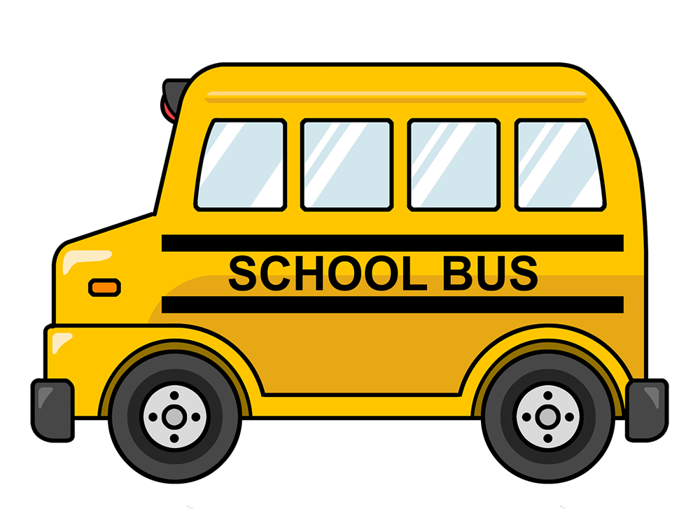 Animated School Bus Clipart - Clipart Kid