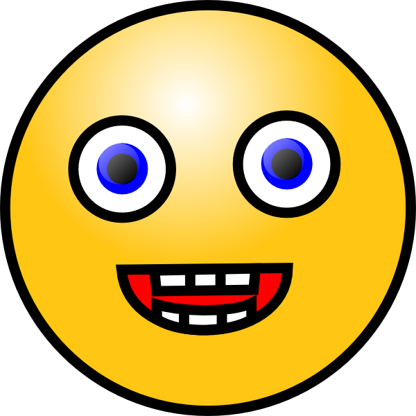 Smiley Face 4 Clip Art At Clker Com   Vector Clip Art Online Royalty