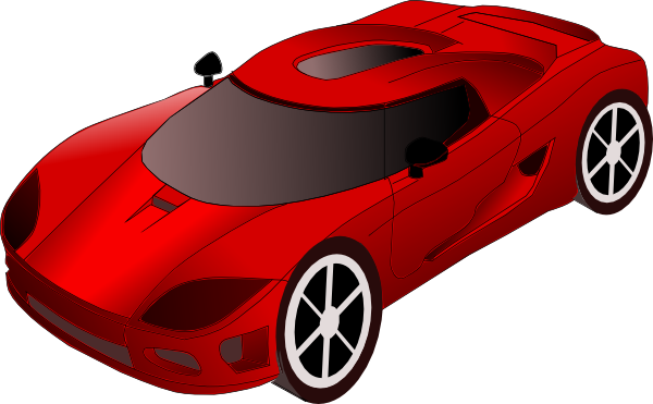 Sports Car Clip Art At Clker Com   Vector Clip Art Online Royalty