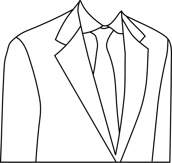 Suit 4 Clip Art At Clker Com   Vector Clip Art Online Royalty Free