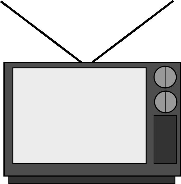 Television Clip Art At Clker Com   Vector Clip Art Online Royalty