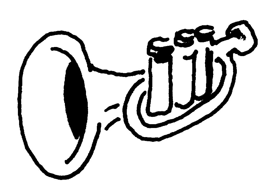 Trumpet Music Clipart