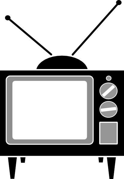 Tv Vintage Clip Art At Clker Com   Vector Clip Art Online Royalty