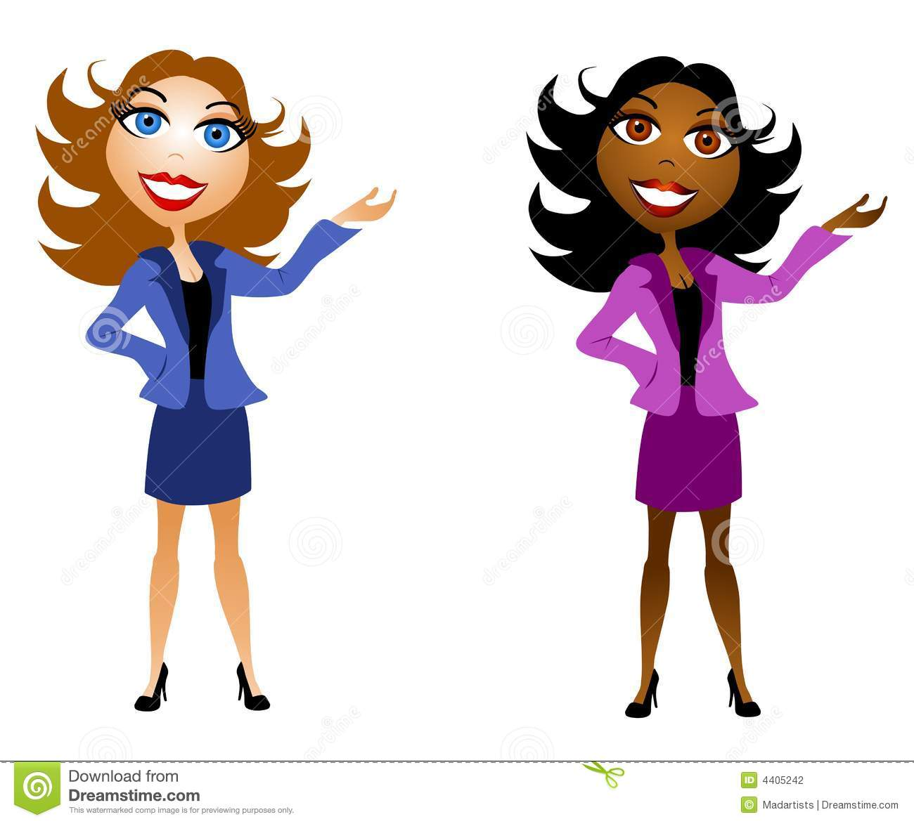 Professional Woman Clipart - Clipart Kid