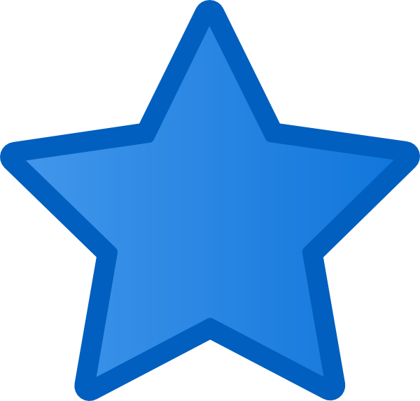 Blue Star Clipart Clipart Suggest