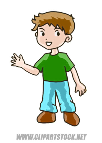 Boy Graphic Picture  Cartoon Art Style People Clipart
