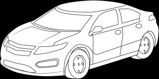 White Car Clipart - Clipart Kid