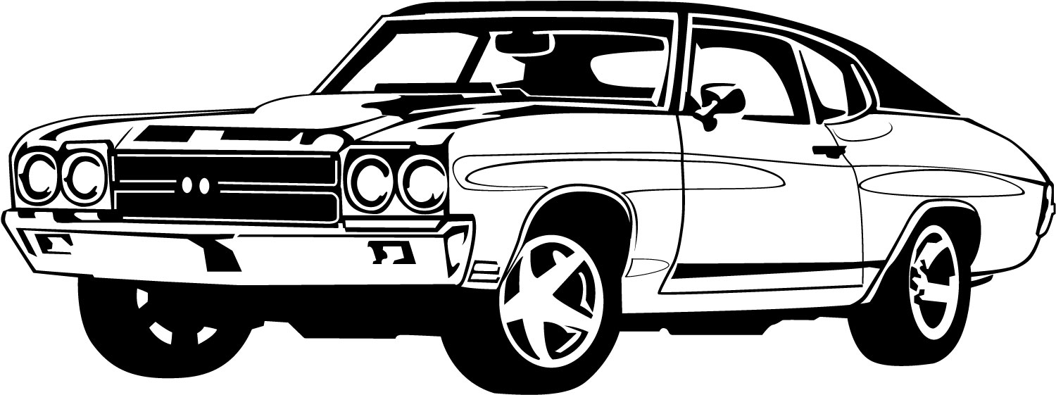 Car Clipart Black And White