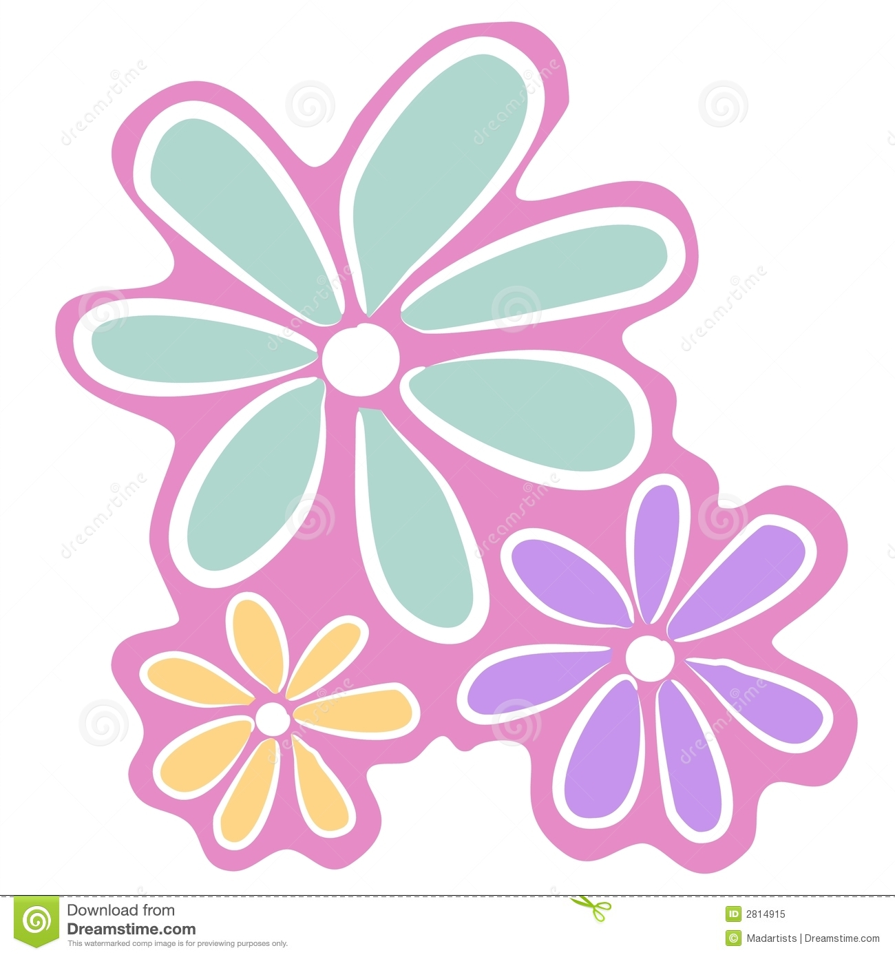 Clipart Pink Flower   Clipart Panda   Free Clipart Images