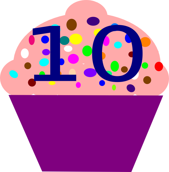 Cupcake 10 Clip Art At Clker Com   Vector Clip Art Online Royalty