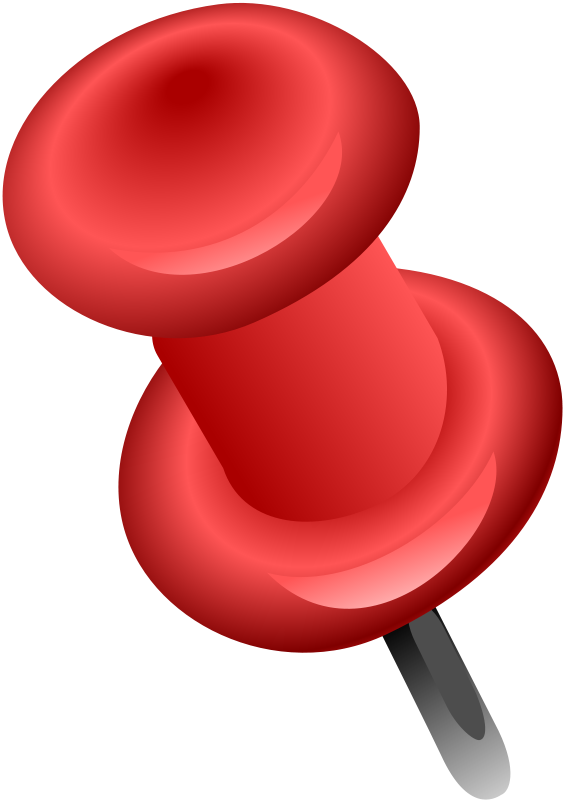 Clip Art Push Pin Clipart pushpin clipart kid free red push pin clip art