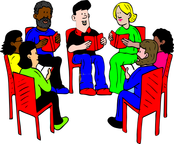 Group Of Readers  Clip Art At Clker Com   Vector Clip Art Online