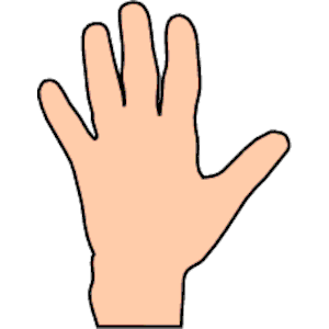 Hand 1 Clipart Cliparts Of Hand 1 Free Download Wmf Eps Emf Svg
