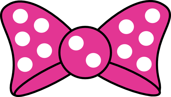 Minnie Mouse Bow Clipart - Clipart Kid