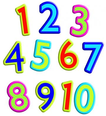 Counting To 10 Clipart