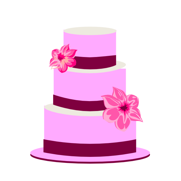 Wedding Cake Clipart - Clipart Kid