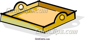 Tray Clipart Coolclips Vc061901 Jpg