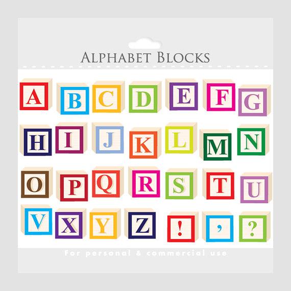 alphabet clipart letter blocks clip art letterblocks